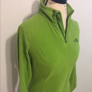 The North Face Bright Green Pullover